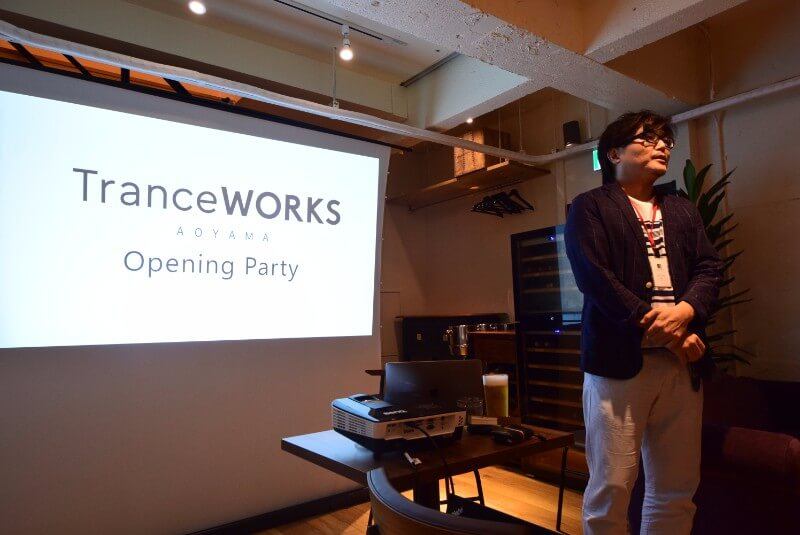 Event report] July 1 co-working space TranceWORKS and Shibu2 lounge